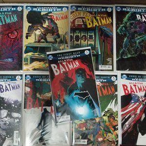 DC comics Rebirth Batman 9 lot